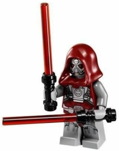 NEW LEGO STAR WARS SITH WARRIOR MINIFIG figure 75025 old republic jedi defender