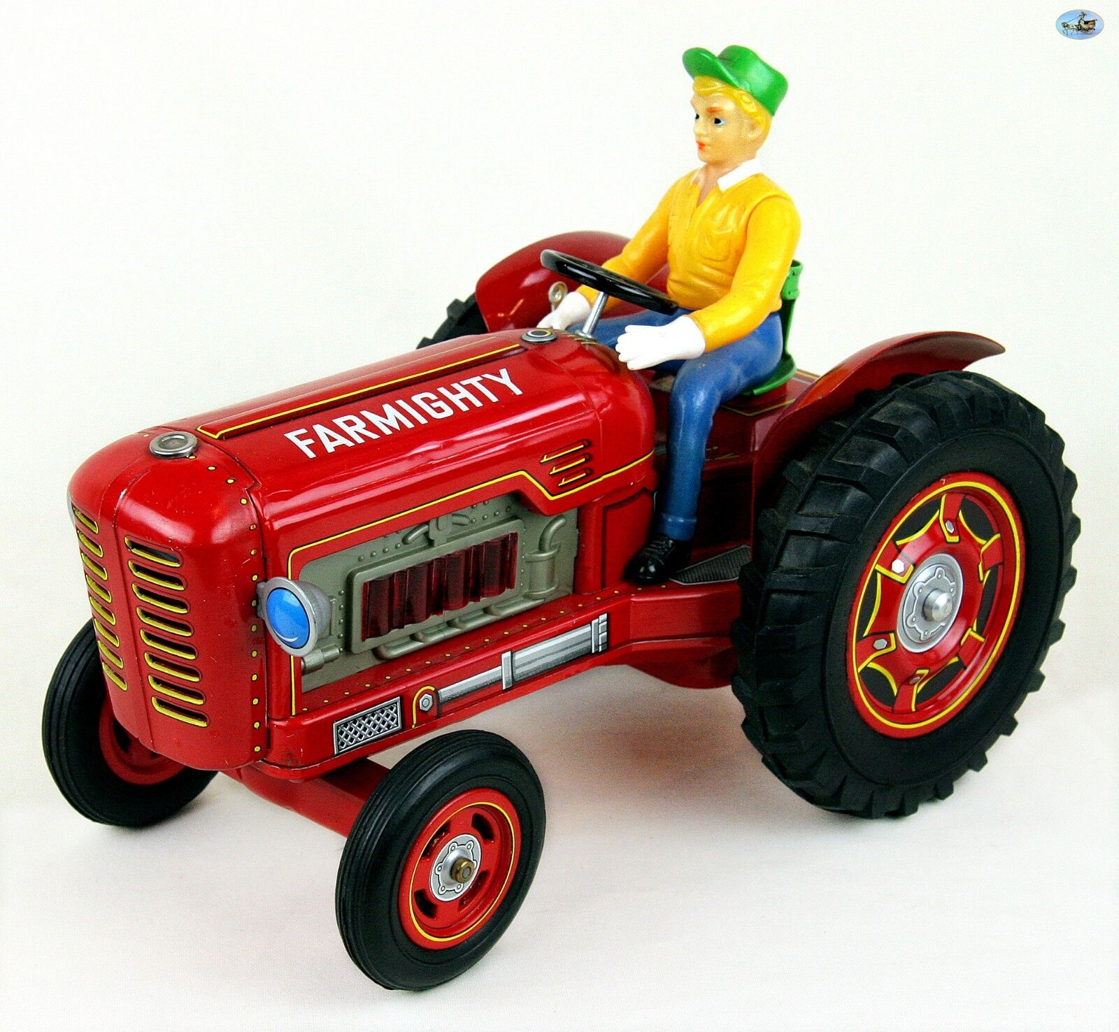Fine Vintage 1960 Japan MODERN TOYS TM Farmighty Battery Operated Friction Truck
