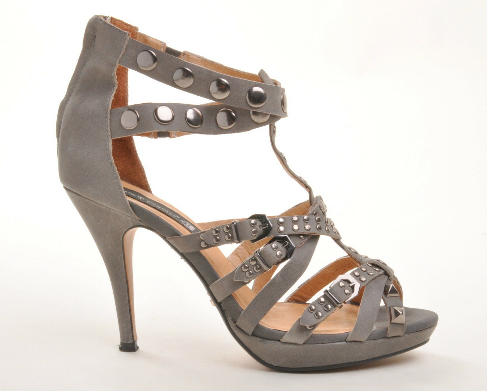 Friis & Company Company Company High Heels Pumps Glam Rock Chic Leder grau Gr 41 (urspr  ) 422be8