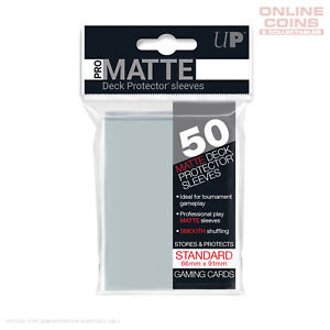 Ultra Pro Pro-matte Deck Protector Clear 50ct Sleeves Standard Size 66 X 91