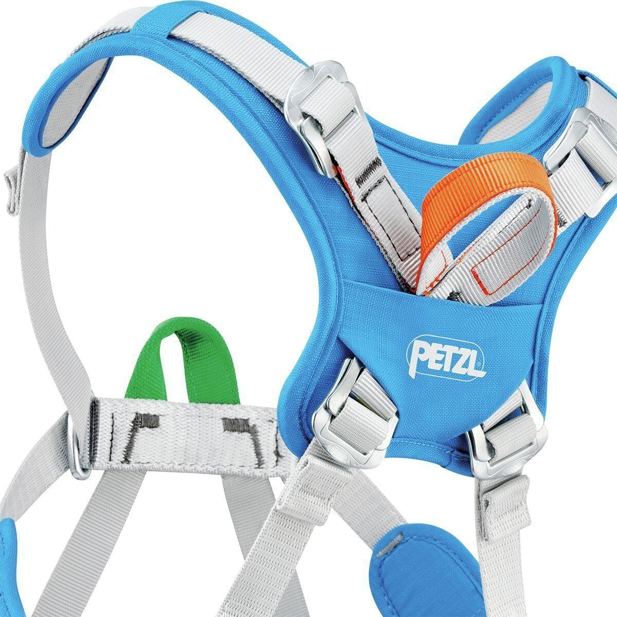 Petzl moins enfants ouistiti Harnais d'escalade, bleu de méthyle, moins Petzl 30 kgs *NEUF* 69f2a9