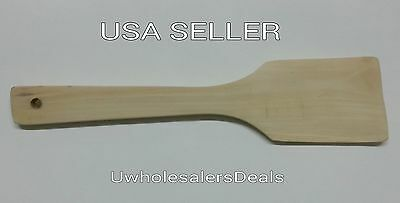 Wooden Spatula for Cooking - Wood Spatula Spoon Kitchen Tools Utensils NEW