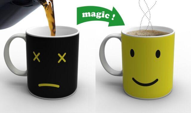 Ceramic Monday Mug Morning Heat Changing Coffee Tea Mug Magical Office Drink Cup