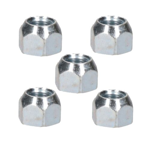 Pack of 5 M12 x 1.5 Conical Wheel Nuts Nut For Trailer Suspension Hubs Trailers