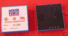 Tube Of 5 Martek 1612s48 Dc Dc Converter 48v In 12v Out 13amps 15 Watts