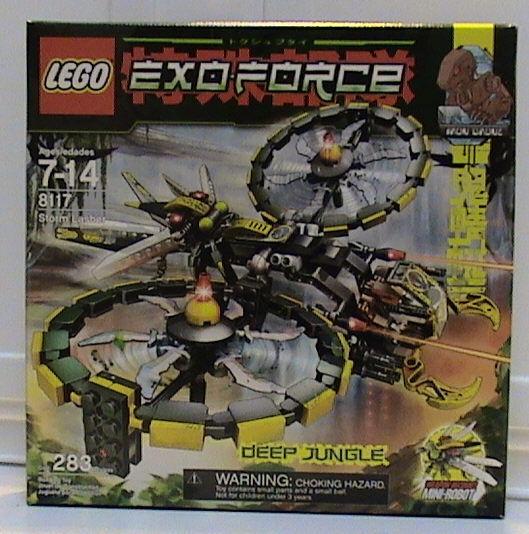 LEGO Exo-Force 8117 Storm Lasher New Sealed