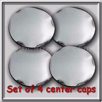 Chrome 2004-2005 Gmc Envoy Xl, Xuv Center Caps Hubcaps For Aluminum Wheel Set 4