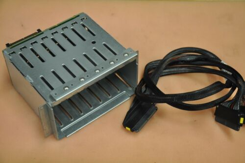 HP ML370 G5 Server SAS SFF 8-bay Drive Cage w// Backplane and Cable 401415-B21
