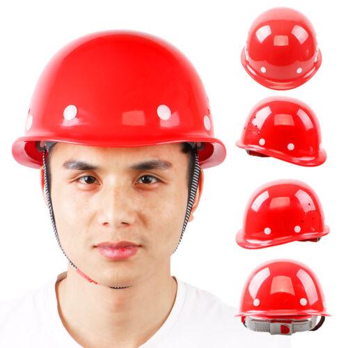 Hat Construction Safety Work Helmet Ratchet Suspension Construction Head Protect