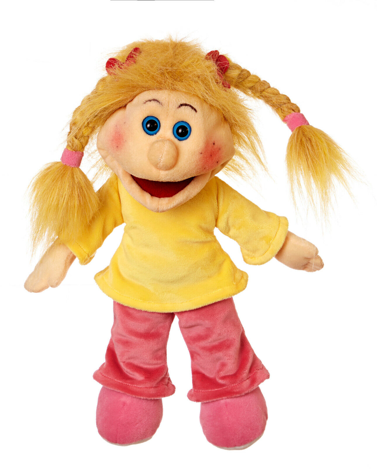 Living Puppets W682 Sandra Hand Puppet 35 cm Is One Small Sweet Tooth