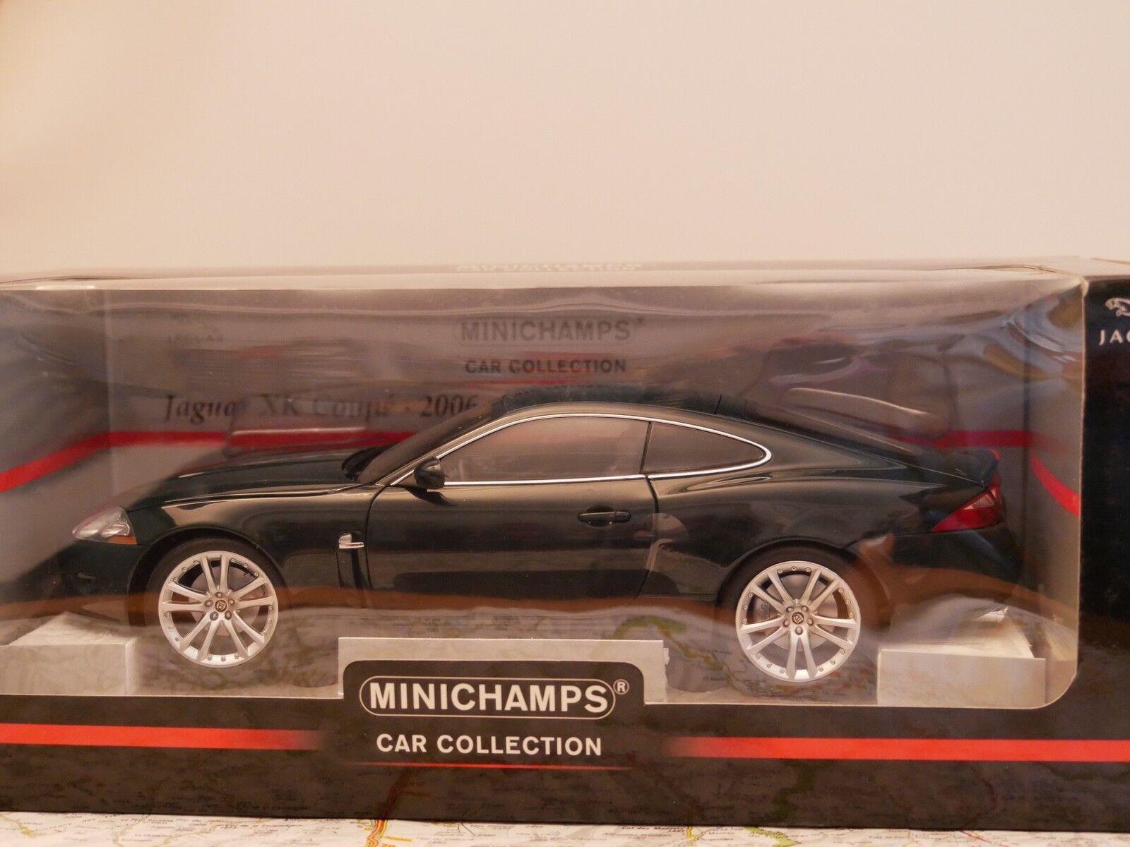 MINICHAMPS Jaguar XK COUPE Grün 2006 ART.150130500  NEW DIE-CAST 1 18