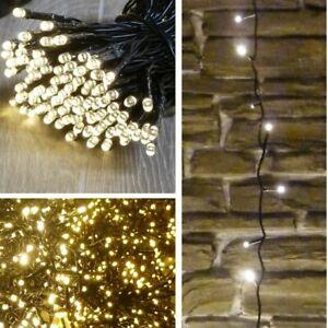 Weihnachtsbeleuchtung Mit Timer.Details Zu 80 720 Led Lichterkette Mit Timer Outdoor Indoor Warmweiss Weihnachtsbeleuchtung