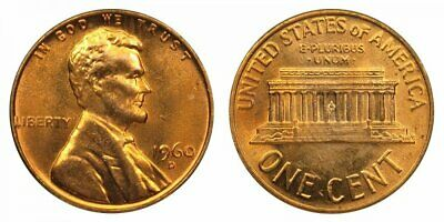 1959-D LINCOLN CENT NO SPOTS OR SMUDGES CHOICE BU RED GREAT PRICE!