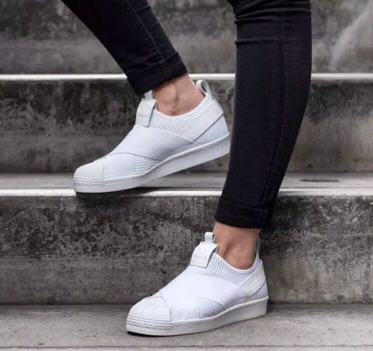 DIDAS SUPERSTAR SlipOn BY2885  women shoes white