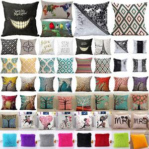 Luxury-Cotton-Linen-Pillow-Case-Waist-Throw-Cushion-Cover-Sofa-Home-Decorative