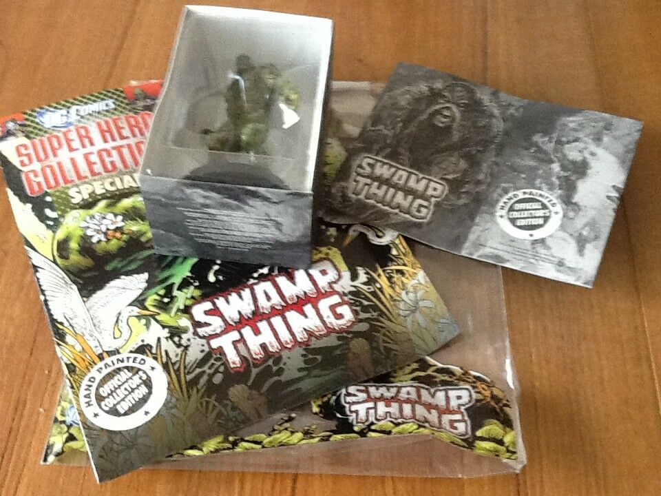 Dc Figurine Collection ISSUE special Swamp Thing