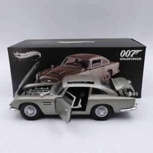 Hot-wheels-Elite-1-18-Aston-Martin-DB5-Goldfinger-JAMES-BOND-007-BLY20-Diecast