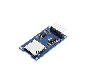 MODULO LETTORE SCRITTORE SCHEDA MICRO SD CARD Arduino mini TF reader Raspberry *
