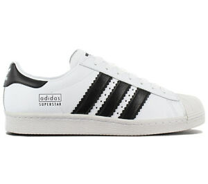 Adidas-Superstar-80s-Men-039-s-Sneaker-Shoes-CG6496-Leather-Trainers-New