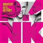 Greatest Hits... So Far!!! [PA] by P!nk (DVD, Nov-2010, 2 Discs, LaFace)