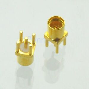 1pce-MMCX-female-jack-center-solder-PCB-mount-RF-connector