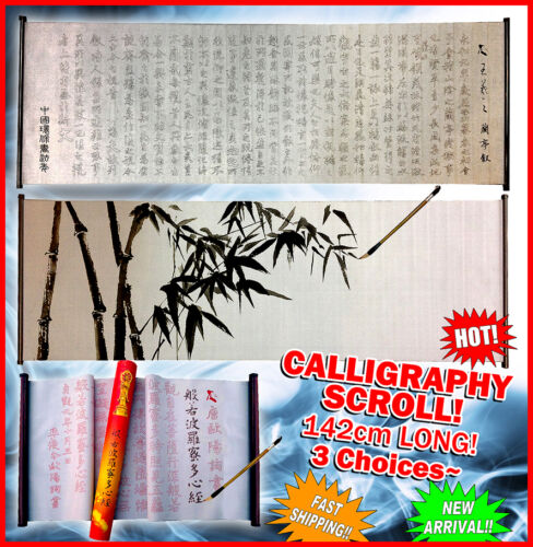 Special Offer LARGE Chinese Calligraphy scroll Reusable Magic Writing Brush