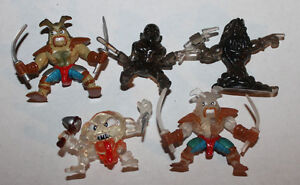 Moose-Fistful-of-Power-Mini-Action-Figure-Lot-1-of-5x-Figures