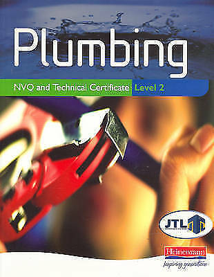"""""""AS NEW"""" Plumbing NVQ and Technical Certificate Level 2, JTL, Book"""