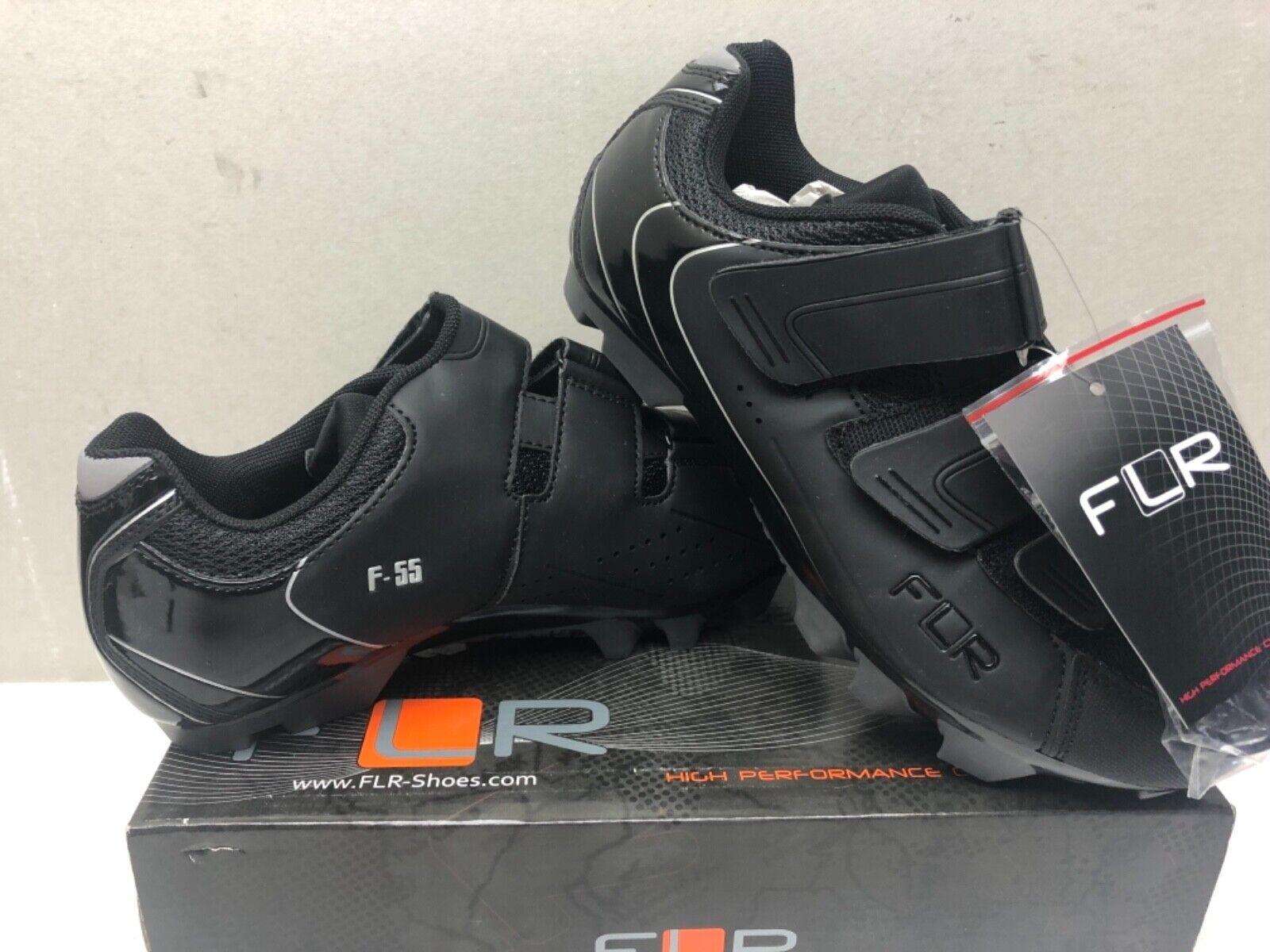 FLR F55 Scarpe MTB Ciclismo III in Nero Taglia EU 39