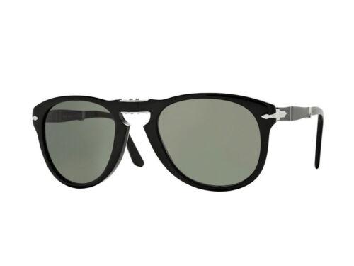 Occhiali da Sole Persol  Sunglasses PO0714 FOLDING nero verde cristallo 95//31