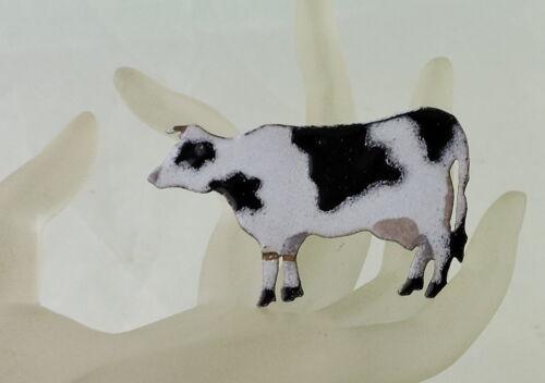 Adorable vintage cow farm animal short romper