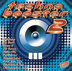 Compilation-CD-Techno-Booster-2-France-M-EX