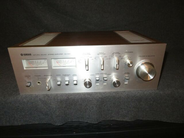 Vintage Yamaha CA 810 Integrated Natural Sound Stereo Amplifier FREE SHIPPING