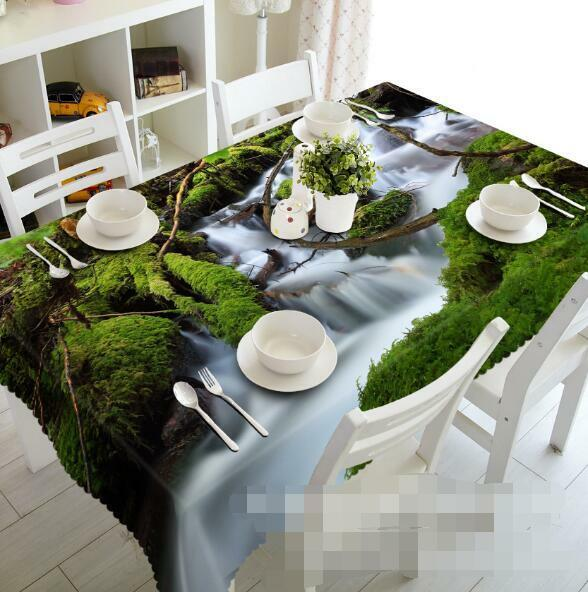 3D Forest 884 Tablecloth Table Cover Cloth Birthday Party Event AJ WALLPAPER AU
