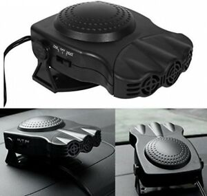 Portable CAR LIGHTER PLUG IN 12V HEATER FAN DEFROSTER BLOWER ELECTRIC HEATER