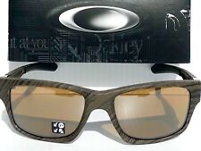 42a98bb4a8 NEW  Oakley JUPITER Squared Woodgrain POLARIZED Bronze lens Sunglass 9135-07
