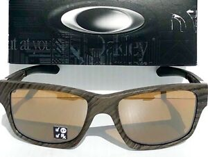85f46e8678 Image is loading NEW-Oakley-JUPITER-Squared-Woodgrain-POLARIZED-Bronze-lens-