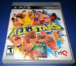 8252cc2aa111 WWE All Stars Sony PlayStation 3  Factory Sealed!  Free Shipping ...