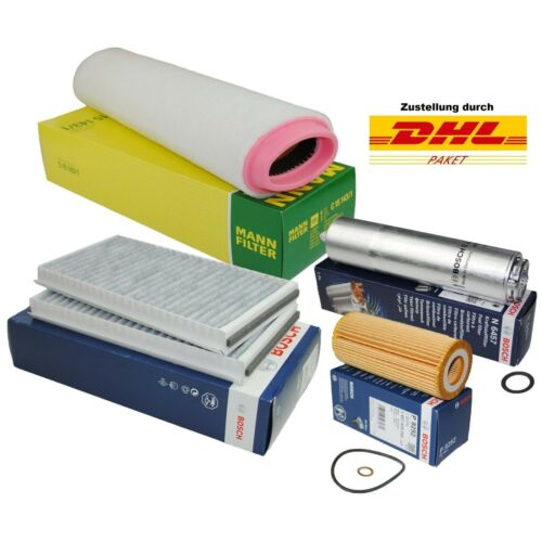 Bosch hombre inspección filtro de paquetes frase filterkit bmw 5er e60 e61 525d 530d