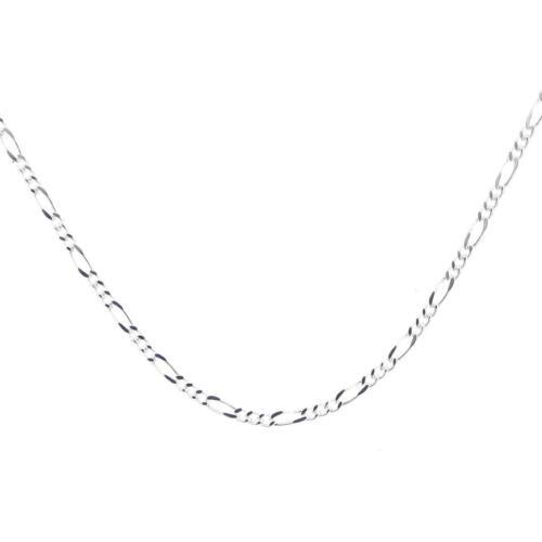 "1.7MM FIGARO CHAIN PREMIUM 16-30/"" WHOLESALE ITALIAN 925 STERLING SILVER necklace"