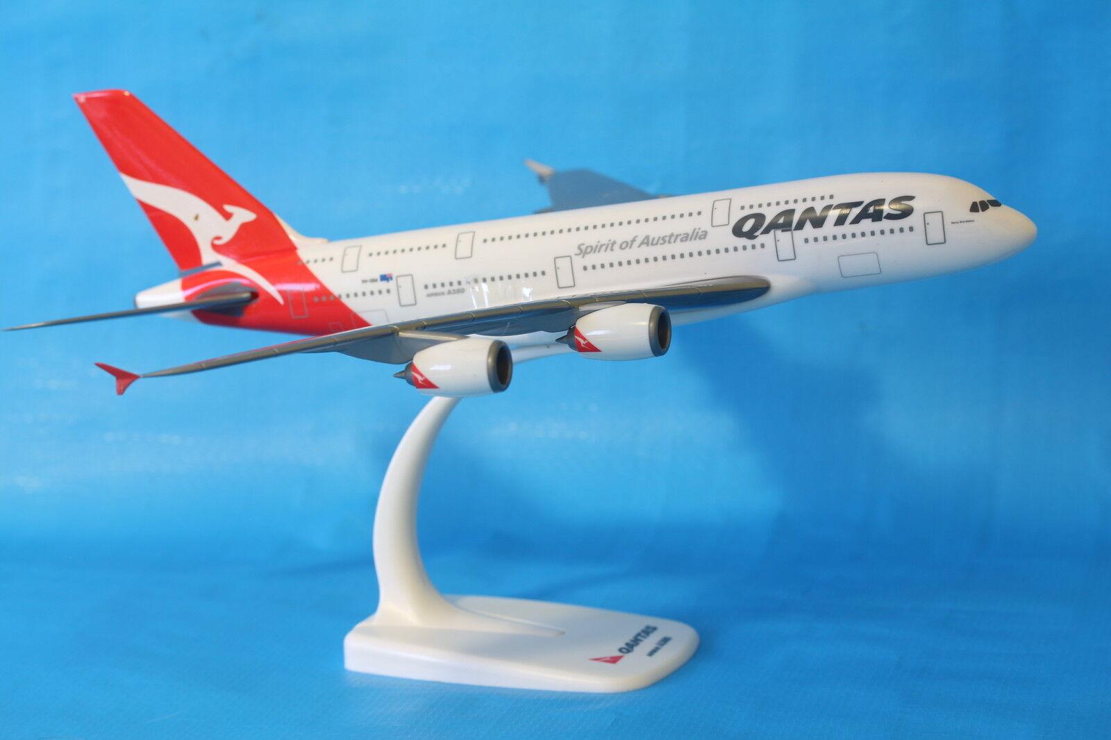 Brand Brand Brand New Qantas Airbus A380 Aeroplane Model Plane 1 250