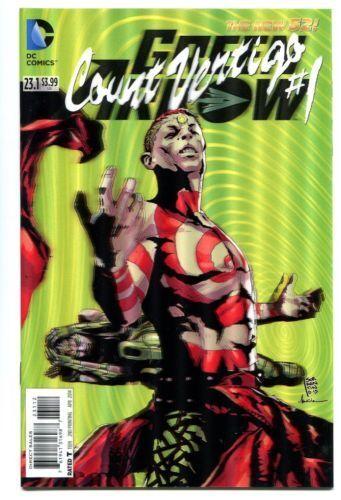 GREEN ARROW #23.1 3D COVER NEW 52 NEAR MINT UNREAD COPY #cdec16-1495