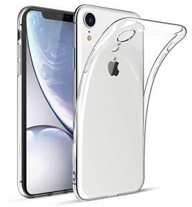 Fuer-Apple-iPhone-XR-Soft-Huelle-Durchsichtig-Silikon-Schutzhuelle-Case