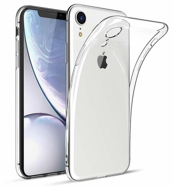 Für Apple iPhone XR Soft Hülle Durchsichtig Silikon Schutzhülle Case
