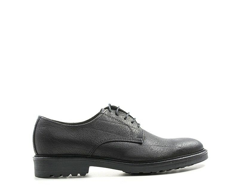 Schuhe ITALY MADE IN ITALY Schuhe Mann NERO Naturleder ANIL-106S 04a094