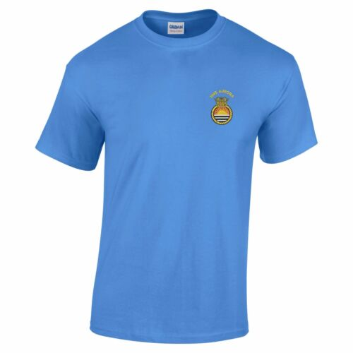 HMS Aurora Embroidered T-Shirt