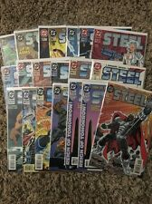 STEEL #0-51 (DC Comics) comic book collection lot of 20