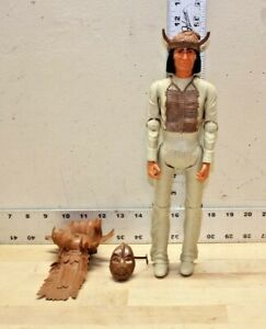 Vintage-1967-Marx-Johnny-West-Geronimo-Indian-Action-Figure-with-Accessories