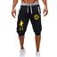 Dragon Ball Z Son Goku Shorts Sweatpants Gym Sport Fitness Short Joggers Pants
