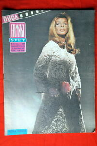 SENTA-BERGER-ON-COVER-1968-VERY-RARE-EXYU-MAGAZINE